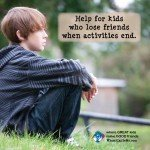 How to Help Your Child Hang On to Friendships when After-School Activities End
